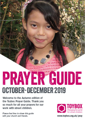 Toybox Prayer Guide Autumn 2019