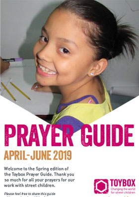 Toybox Prayer Guide Spring 2019