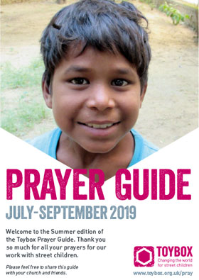 Toybox Prayer Guide Summer 2019