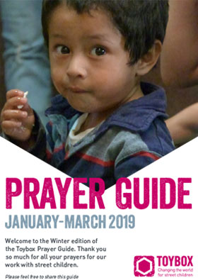 Toybox Prayer Guide Winter 2019