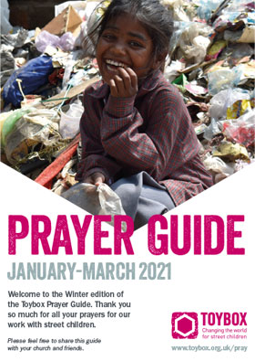 Toybox Prayer Guide Winter 2021